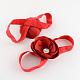 Elastic Baby Cloth Flowers Foot BandsOHAR-R106-02-1