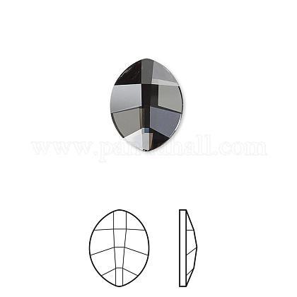 Austrian Crystal Rhinestone Cabochons2204-10x8-001SINI(F)-1
