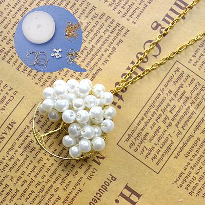DIY Necklace KitsDIY-JP0003-19-1