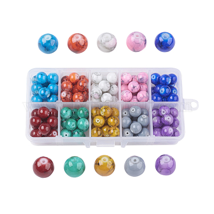 Drawbench Glass Beads GLAD-JP0001-03-10mm-1