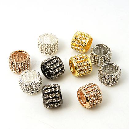 Perles en laiton de strassRB-C1610-M-1