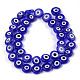 Chapelets de perles vernissées manuellesLAMP-S191-02C-03-1
