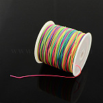 Nylon Thread, Colorful, 1mm; about 90m/roll