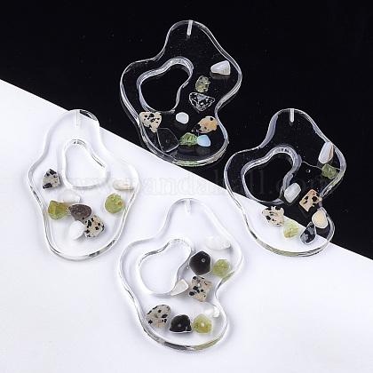 Abalorios de resina transparentesCRES-S362-007A-1