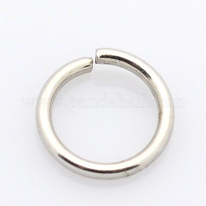 304 acero inoxidable anillos de salto cerrados pero no soldadosSTAS-E067-05-4.5mm-1