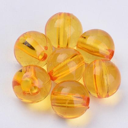 Transparent Acrylic BeadsTACR-Q255-22mm-V24-1