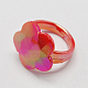 Valentine Day Gifts for Kids Acrylic Rings for KidsRJEW-S618-2-2