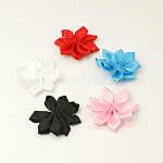 Handmade Woven Costume Accessories, Flower, Mixed Color, 31x33x6mm