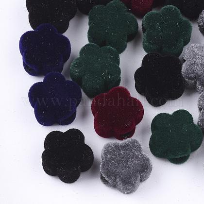 Abalorios de acrílico flockyFIND-T046-35-1