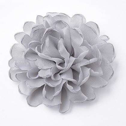 Pinzas para el cabello de cocodrilo de flores de encajeOHAR-Q253-08-1