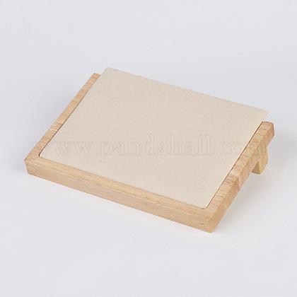 木製のネックレスディスプレイNDIS-E020-02B-1