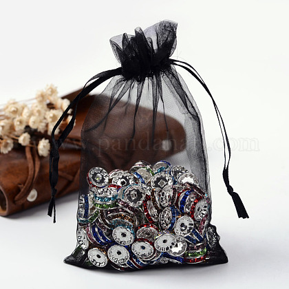 Organza Gift Bags with DrawstringOP-R016-10x15cm-18-1