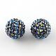 AB-Color Resin Rhinestone BeadsRESI-S315-8x10-03-1