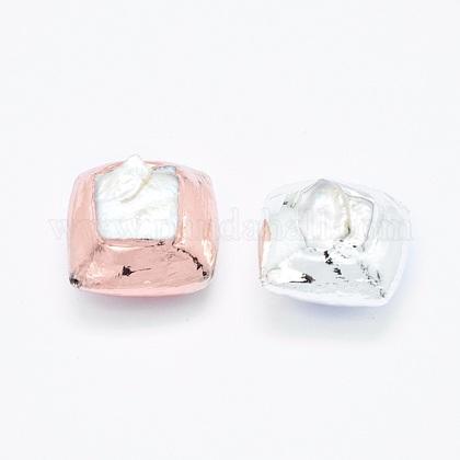 Perlas naturales abalorios de agua dulce cultivadasPEAR-G005-02-1