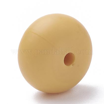 Abalorios de silicona ambiental de grado alimenticioSIL-Q001B-53-1