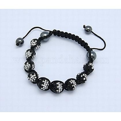 Fashion BraceletsX-BJEW-B025-CK-14-1