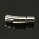 Column 316 Stainless Steel Bayonet ClaspsSTAS-A021-3mm-1