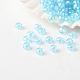 Perles de verre rondes lustrées fgb® 12/0 couleurs transparentesSEED-A022-F12-517-1