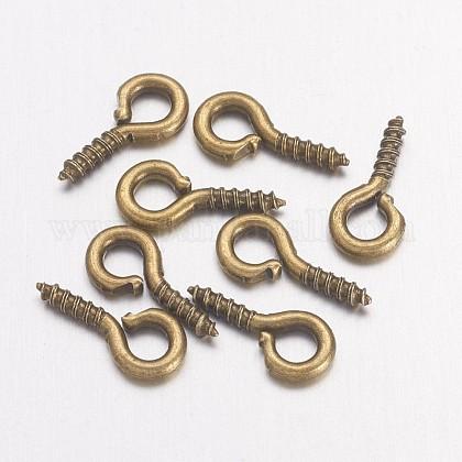 Iron Screw Eye Pin Peg BailsE561Y-AB-FF-1