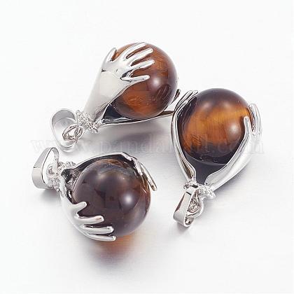 Colgantes de piedras preciosasG-G074-09-1