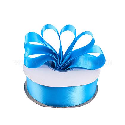 Rubans satin de double face de 100% polyester pour emballages de cadeauxSRIB-L024-3.8cm-328-1