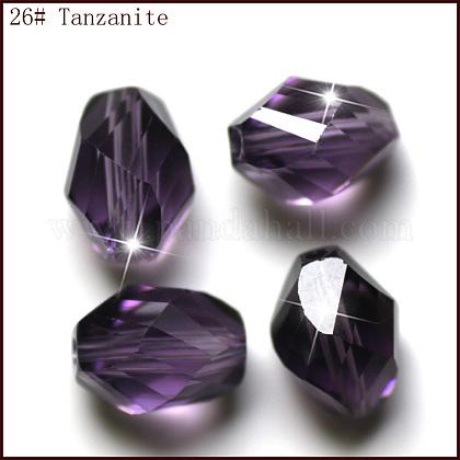 Imitation Austrian Crystal BeadsSWAR-F077-9x6mm-26-1