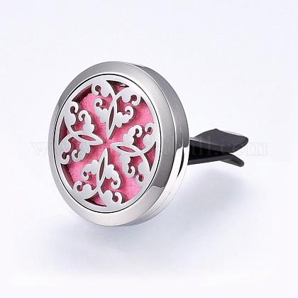 Abalorios de diamante imitación de arcilla polimérica 316 acero inoxidableSTAS-H461-20P-7-1