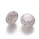 Perlas naturales abalorios de agua dulce cultivadasPEAR-F015-25-2