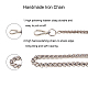 Pandahall elite bolsa de cadena con correaCH-PH0001-07P-5