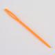 Circular de acero inoxidable agujas de tejer de alambre de acero y plástico de color al azar agujas de tapiceríaTOOL-R042-650x4mm-4