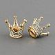Shining Crown Alloy Grade A Rhinestone BucklesALRI-S128-1