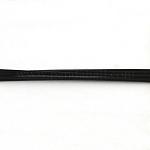 Alambre de cola de tigre, revestido de nylon 201 acero, negro, 0.7mm; 760m / 1000g