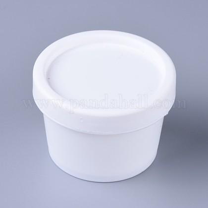 Tarro de máscara recargable de plástico de 50g ppMRMJ-WH0040-02-1