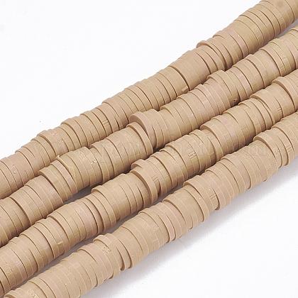Abalorios de arcilla polimérica hechos a manoX-CLAY-R067-6.0mm-37-1