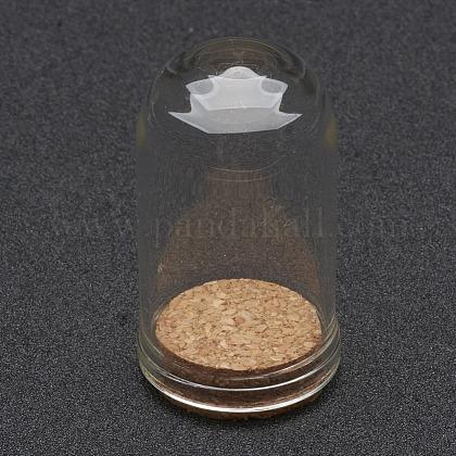 Cubierta de vidrio cloche clocheAJEW-P043-M-1
