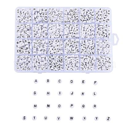 Abalorios acrílicos opacosSACR-X0015-11-1