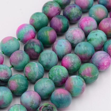 Natural Imperial Jasper Beads StrandsG-F473-03G-10mm-1