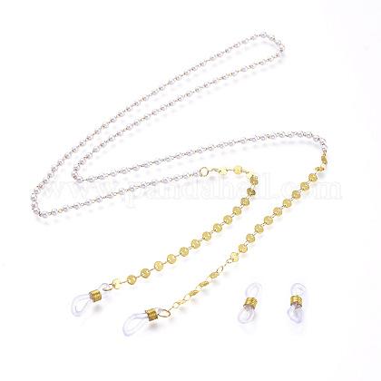 Cadenas de latón cadenas para anteojosAJEW-EH00031-1