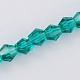 Imitación austriaco cristal 5301 bicono cuentasGLAA-S026-6mm-08