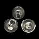 Round Handmade Blown Glass Globe BeadsBLOW-R002-12mm-1