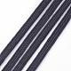 Cuerda elástica trenzada plana de 1/4 pulgadaX-EC-R030-6mm-02-3
