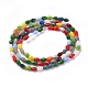 Imitation Jade Glass Beads StrandsGLAA-E415-03-2
