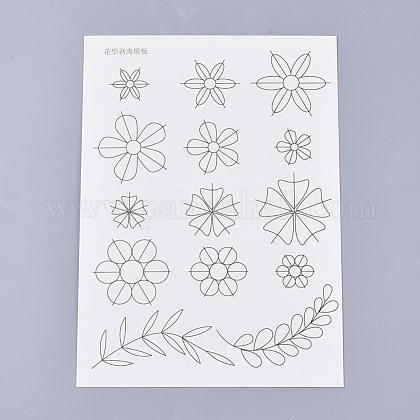 18ピース紙クイリングツールDIY-S038-003-1