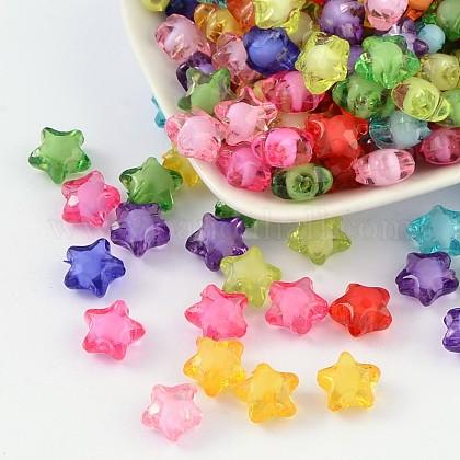 Perles en acrylique transparenteTACR-S091-12mm-M-1