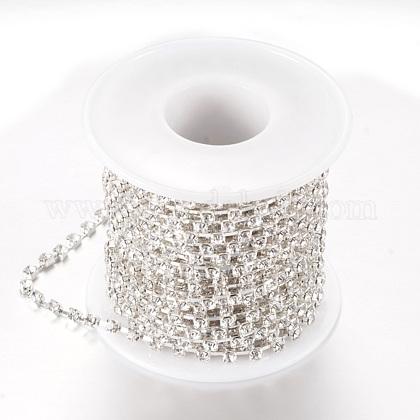 Cadenas de strass Diamante de imitación de bronceCHC-T002-SS8-01S-1