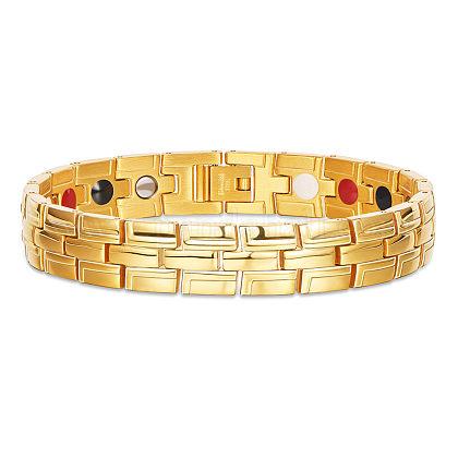 Pulseras de correa de reloj de acero inoxidable shegrace®JB649A-1