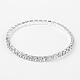 Valentines Day Gifts for Her Single Row Stretch Rhinestone Tennis BraceletsX-B115-1-1