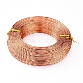 Aluminum Wire, Flexible Craft Wire, for Beading Jewelry Doll Craft Making, NavajoWhite, 18 Gauge, 1.0mm; 200m/500g(656.1feet/500g)