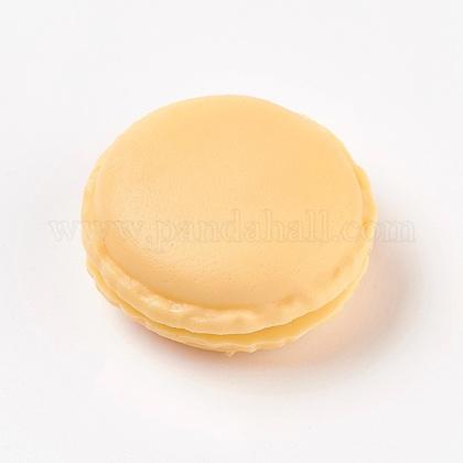 Mallette de transport de bague/collier bijoux de mini macarons mignons de couleur bonbon portableCON-WH0038-A01-1