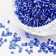 11/0 de dos abalorios de la semilla de cristal talladoCSDB28-1